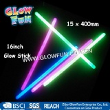 16 Glow Stick for Party Holiday, Glow in The Dark