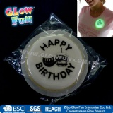3inch Round Glow Badge promotion